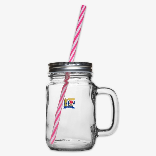 MFCSC Champions Artwork - Glass jar with handle and screw cap