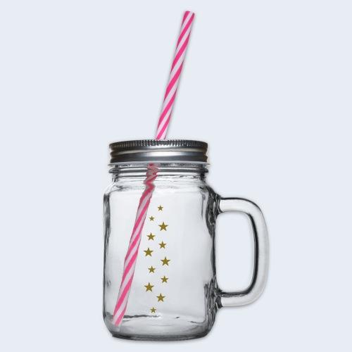 12 stars - Drinkbeker met handvat en schroefdeksel