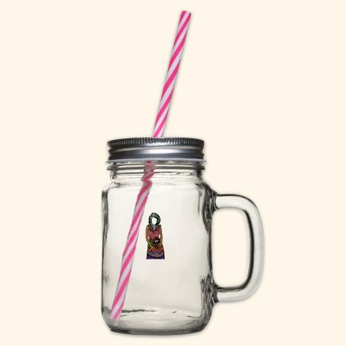 Femme avec jare - Bocal à boisson