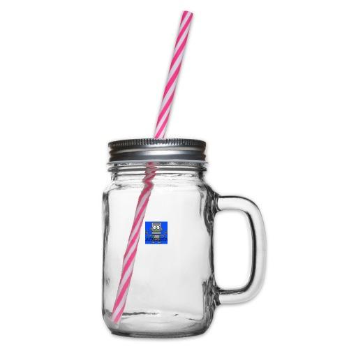 addminator - Glas med handtag och skruvlock