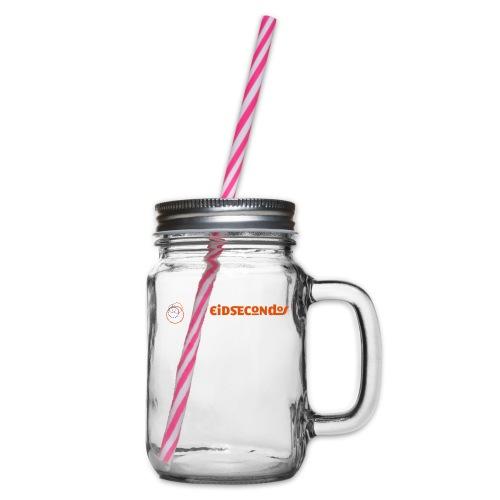 Eidsecondos better diversity - Henkelglas mit Schraubdeckel
