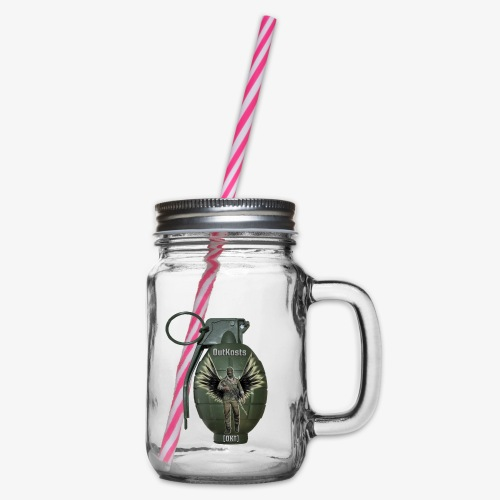 grenadearma3 png - Glass jar with handle and screw cap