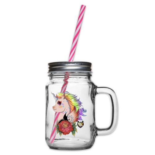 licorne kawaii - Bocal à boisson