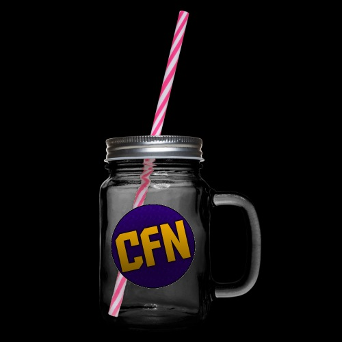 CFN - Glass jar with handle and screw cap