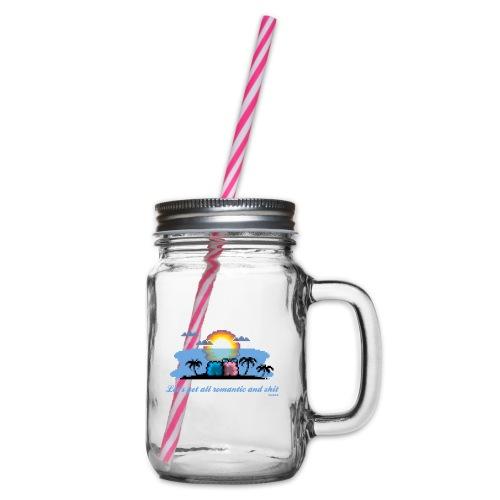 Beach Romantic - Henkelglas mit Schraubdeckel
