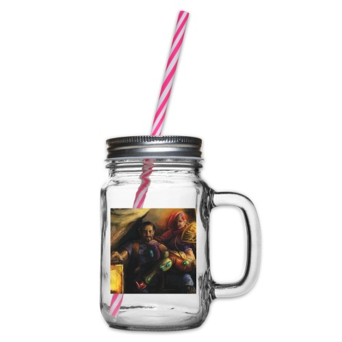 Dethroned 02 - Henkelglas mit Schraubdeckel