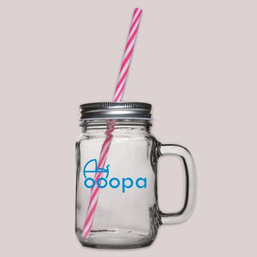 Für den lieben OPA : Kinderwagen : Enkel : Enkelin - Henkelglas mit Schraubdeckel