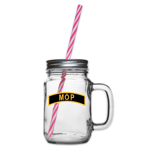 MÖP-Båge - Glas med handtag och skruvlock