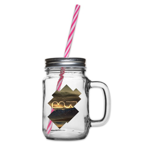 Women's shirt Album Cover - Glass jar with handle and screw cap