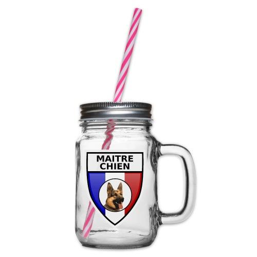 Ecusson maitre-chien berger allemand - Bocal à boisson