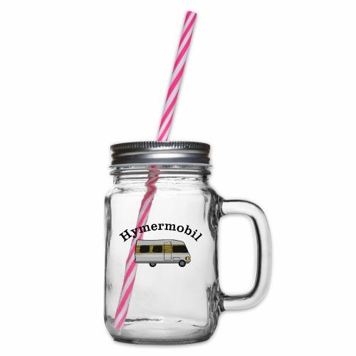 Hymermobil - Henkelglas mit Schraubdeckel