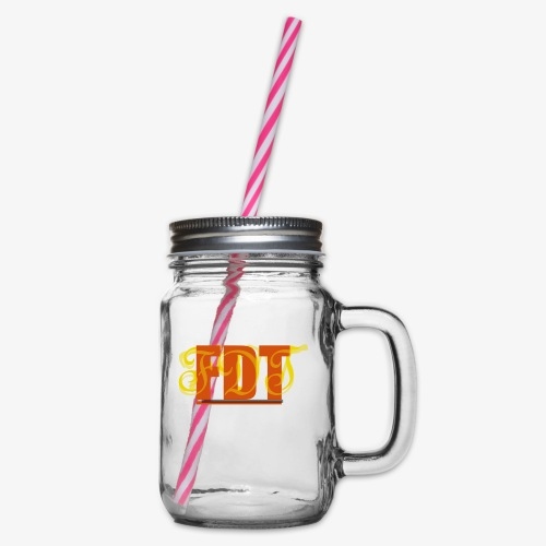 FDT - Glass jar with handle and screw cap
