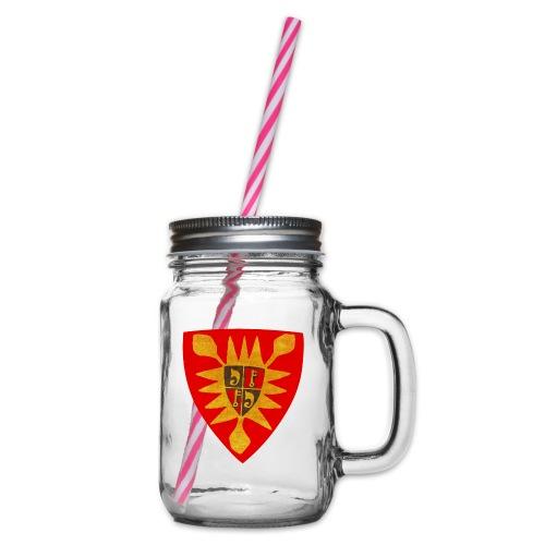 Exten Wappen Tasse - Henkelglas mit Schraubdeckel