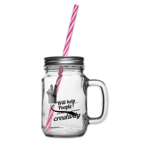 crati - Glass jar with handle and screw cap