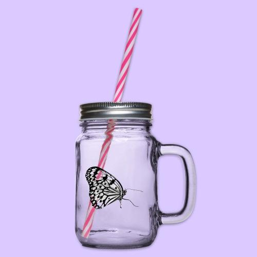Schmetterling, Schmetterlinge, Insekt, Natur - Henkelglas mit Schraubdeckel