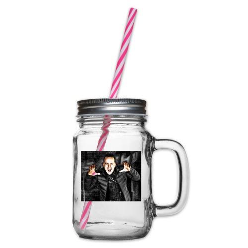 SASH! ***Scream Loud*** - Glass jar with handle and screw cap