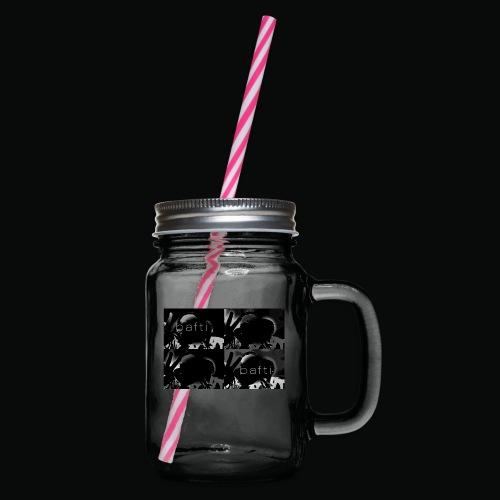 black bafti crew - Drikkekrus med skruelåg