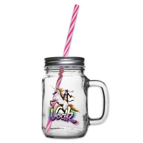 VodK licorne png - Bocal à boisson
