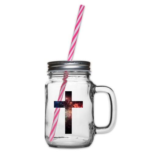 Cross Galaxy - Drinkbeker met handvat en schroefdeksel