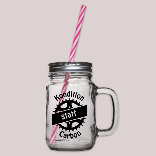 04-30-Kondition-Carbon - Henkelglas mit Schraubdeckel