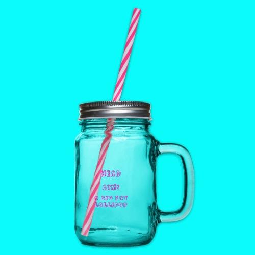 A BIG FAT LOLLIPOP - Glas med handtag och skruvlock