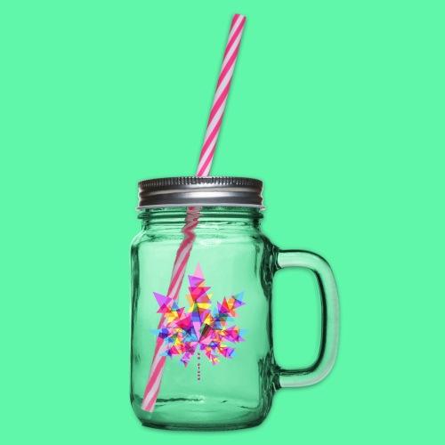 Mary Jane pink - Drikkekrus med skruelåg