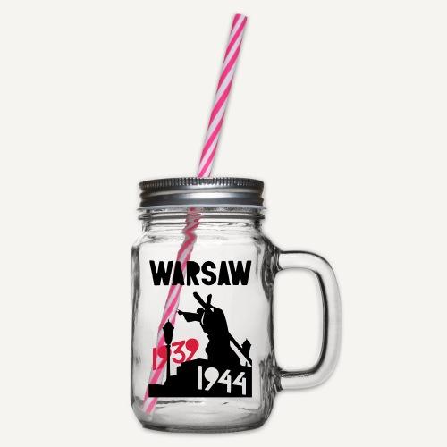 Warsaw 1939-1944 - Słoik do picia z pokrywką