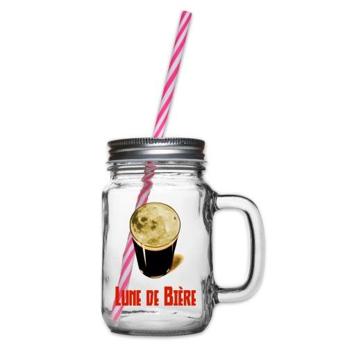 Logo Lune de Bière - Bocal à boisson