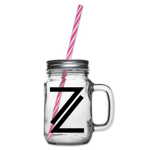 Z - Glass jar with handle and screw cap