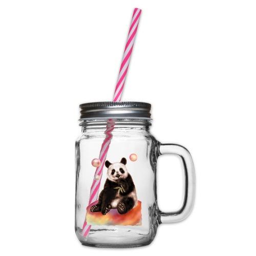 Panda World - Boccale con coperchio avvitabile