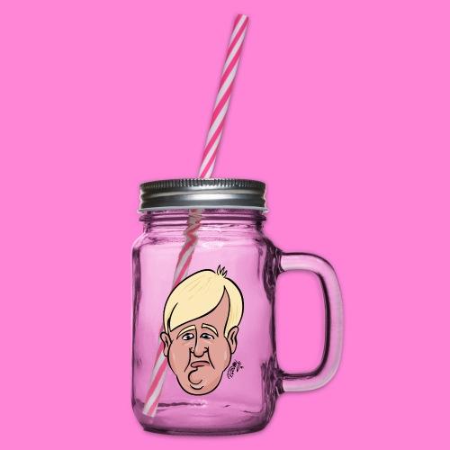 Donald - Drinkbeker met handvat en schroefdeksel