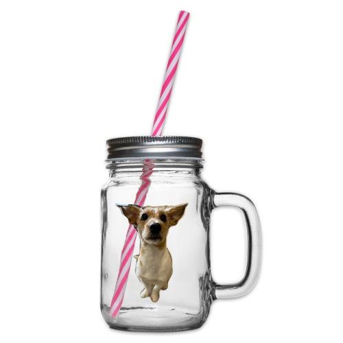 LackyDog - Henkelglas mit Schraubdeckel