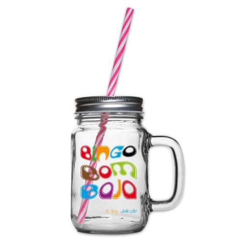 Bingobombaja - Henkelglas mit Schraubdeckel