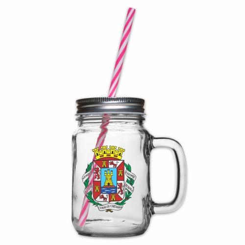 Escudo Cartagena - Jarra con asa y tapa roscada