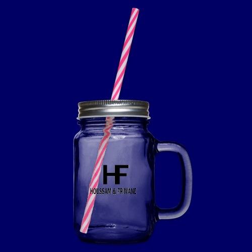 H&F - Boccale con coperchio avvitabile