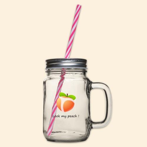 Look my peach - Bocal à boisson