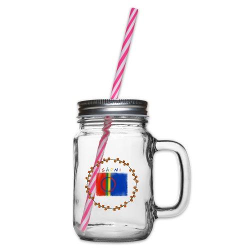 Sapmi - Glass med hank og skrulokk