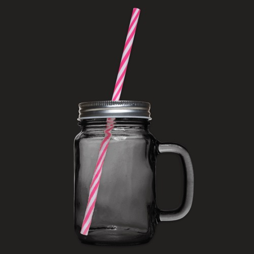 S1 png - Glass jar with handle and screw cap