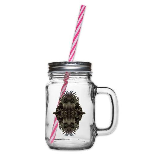 Kretzschmaria - Glass jar with handle and screw cap