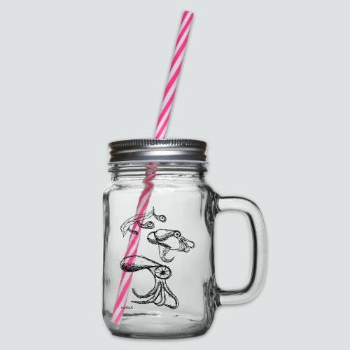 Octopussy png - Henkelglas mit Schraubdeckel