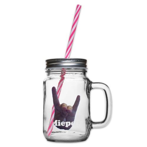 Mieper - Drinkbeker met handvat en schroefdeksel