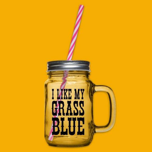 bluegrass - Drinkbeker met handvat en schroefdeksel