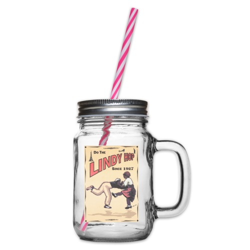 Do the Lindy Hop Since 1927 - Glas med handtag och skruvlock
