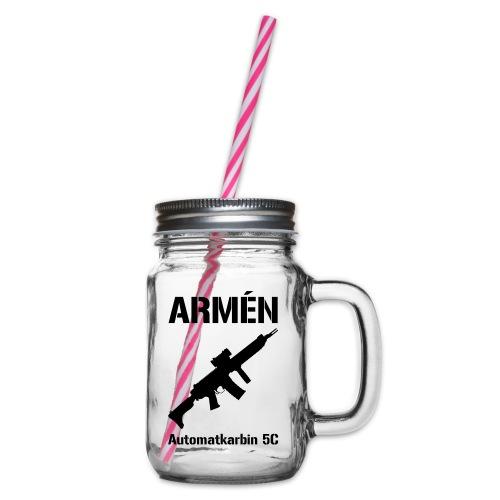 ARMÈN - Ak 5C - Glas med handtag och skruvlock