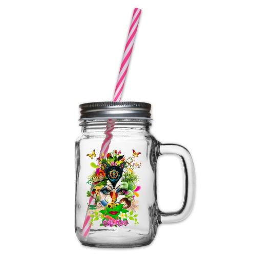 Parfum d'été by T-shirt chic et choc - Bocal à boisson