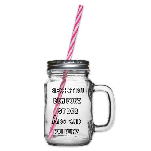 Riechst Du den Furz - Henkelglas mit Schraubdeckel