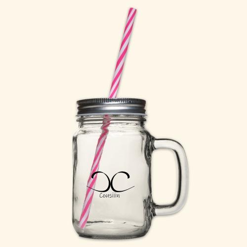 Cosuiiin - Henkelglas mit Schraubdeckel