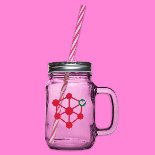 anatomic love - Drinkbeker met handvat en schroefdeksel