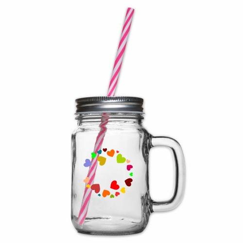 Grandma - Henkelglas mit Schraubdeckel