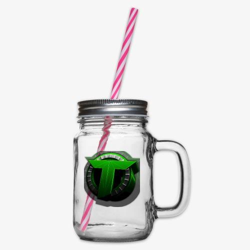 TEDS MERCHENDISE - Glass med hank og skrulokk